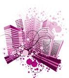Violetcity Stock Afbeelding