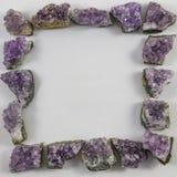Violetkleurig brokkenvierkant Royalty-vrije Stock Afbeeldingen