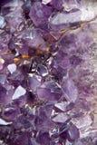 Violetkleurige Geode Royalty-vrije Stock Afbeeldingen