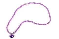Violetkleurige Halsband stock afbeeldingen