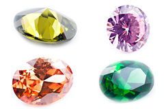Violetkleurige Juwelen Royalty-vrije Stock Foto