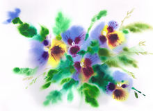 Violets Royalty Free Stock Photo