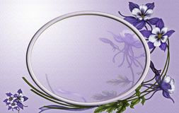 Violets for you royalty free stock images