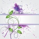 Violett vektor abbildung
