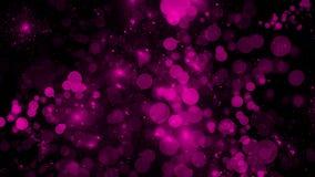 Violett abstrakt bokehtextur Bl?nka ljus bakgrund f?r f?rg vektor f?r bild f?r designelementillustration royaltyfri illustrationer