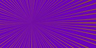 Violett BAKGRUND MED LÄCKAPUNKT VID UNIONEN AV STRÅLAR vektor illustrationer