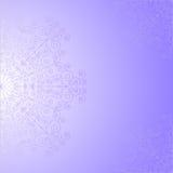 Violett bakgrund med snör åt modellen Vektor Illustrationer