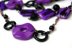 Violett bijouterie Arkivfoton