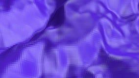 Violett eller purpurfärgad låg poly vinkande yttersida som hypnotiserar miljö Violett geometriskt vibrerande miljö eller pulserar royaltyfri illustrationer