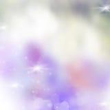 Violett festlig bakgrund för rosa färger och vektor illustrationer