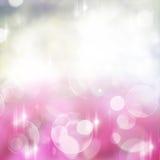 Violett festlig bakgrund för rosa färger och royaltyfri illustrationer
