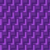 violett geometrisk abstrakt bakgrund 3D för futuristiska designer Arkivbilder