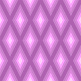 Violett geometrisk modell Arkivbilder