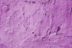 Violett grov murbruk arkivfoto