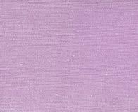 Violett kulör naturlig textiltextur Arkivbilder
