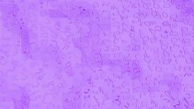 Violett låg poly vinkande yttersida som futuristisk miljö Violett geometrisk vibrerande miljö- eller pulserarbakgrund lager videofilmer