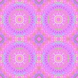 Violett mångfärgat för sömlös cirkelmodell arkivfoto