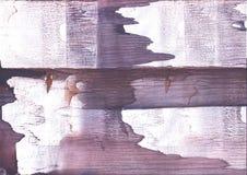 Violett röd strimmig bakgrund för washteckning Arkivbilder