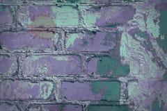 Violett retro gammal vägg Royaltyfria Foton