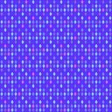 Violett sömlös bakgrund med glödande ljus för mosaik Royaltyfri Foto