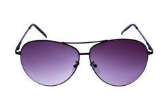 violett solglasögon Arkivbilder