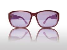 violett solglasögon Royaltyfri Fotografi