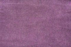 Violett tygtextur Royaltyfria Bilder