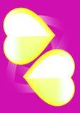 violett yellow Fotografering för Bildbyråer