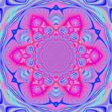 Violetta magentafärgade blåa lilor för abstrakt exotisk blomning Royaltyfria Foton