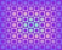 violetta op rundade fyrkanter för konsttoner Royaltyfria Foton