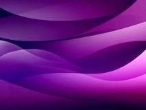 Violette abstracte illustratie. Stock Afbeeldingen