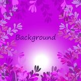 Violette achtergrond Royalty-vrije Stock Afbeeldingen