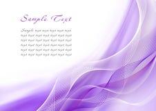 Violette achtergronden Stock Fotografie