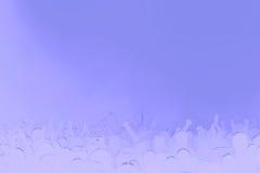 Violette achtergrondmuziek Stock Afbeelding