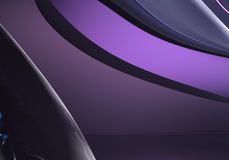 Violette background (abstract). A Study of Form&Colors, rendered in Bryce Stock Images