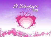 violette d'amour Images libres de droits