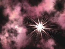 violette de l'espace Photo libre de droits