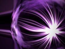 violette de l'espace Photo stock