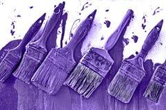 Violette de peinture