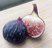 Violette de Sollies Fig Fruit Arkivfoto