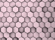 Violette decoratieve oppervlakteachtergrond in verschillende niveaus, met schaduwen stock illustratie