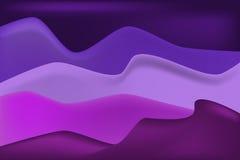 Violette duin en zandachtergrond vector illustratie