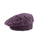 Violette Franse baret Royalty-vrije Stock Afbeelding