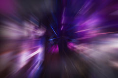 Violette Geschwindigkeit Lizenzfreie Stockfotografie