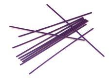 Violette Joßsteuerknüppel Stockfotos