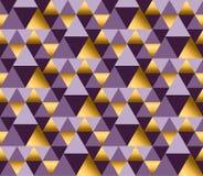 Violette kleur en de gouden vectorachtergrond van de metaaltextuur Royalty-vrije Stock Afbeelding