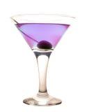 Violette koude cocktail royalty-vrije stock afbeelding