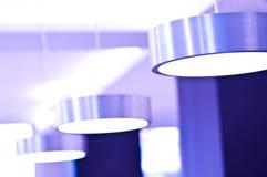 Violette Leuchten Lizenzfreie Stockfotos
