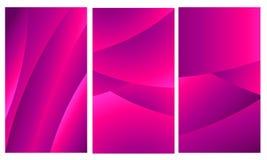Violette mobile de geometric_magenta de fond d'abrégé sur papier peint illustration libre de droits