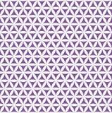Violette nahtlose Blume des Lebenmusters - heiliger Geometriehintergrund - das meiste magische Muster auf der Welt stock abbildung